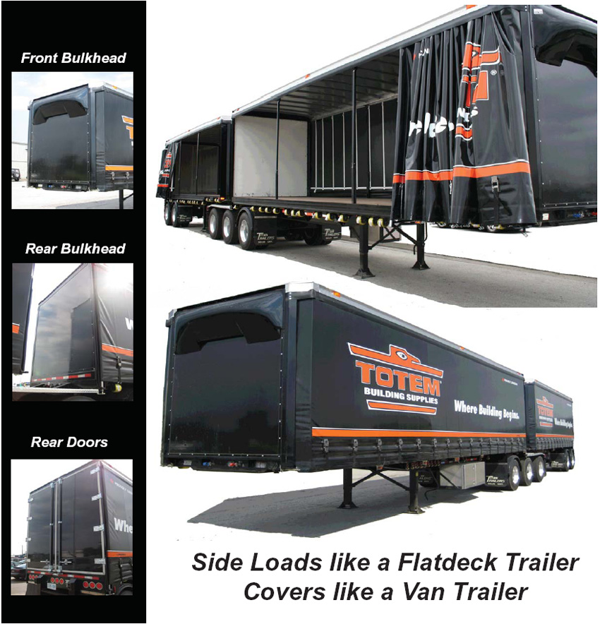 Download: Pre trip inspection on a flatbed curtain side trailer at