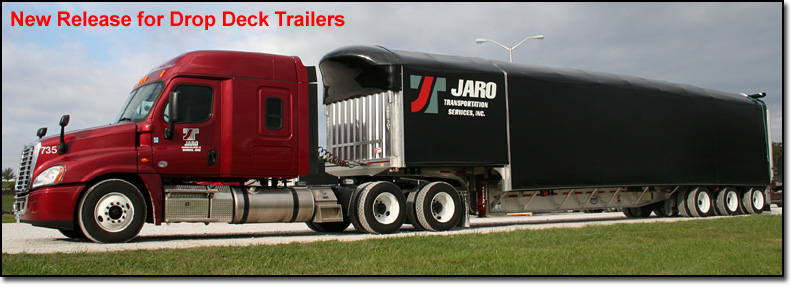 Sliding Tarp Steel Hauling Trailers
