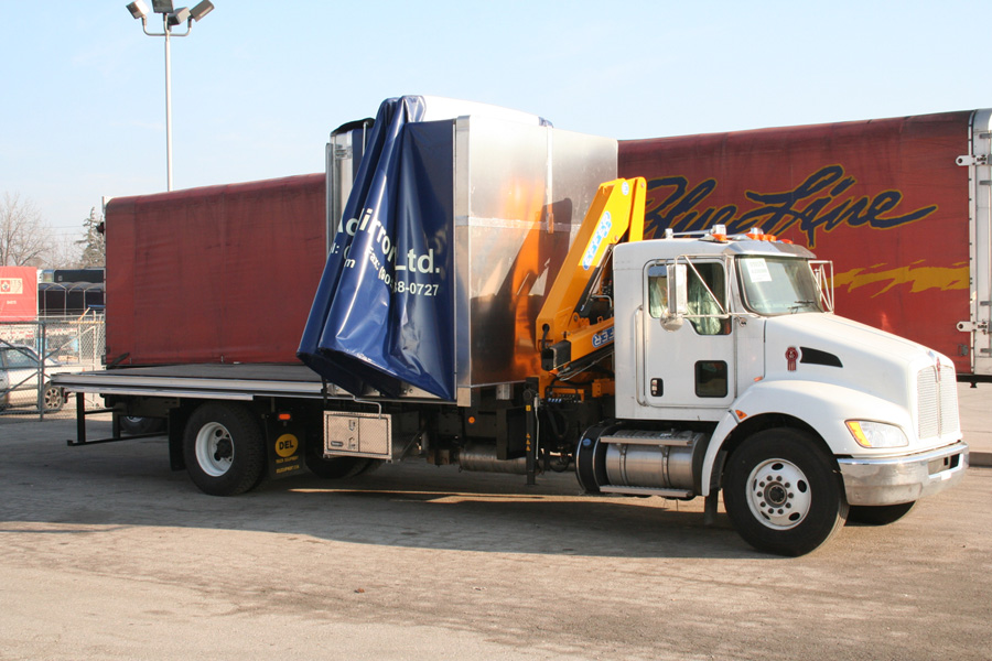 Straight Body Truck Tarp
